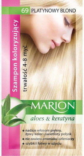 Marion Szampon koloryzujący 4-8 myć 69 Platynowy blond 40ml