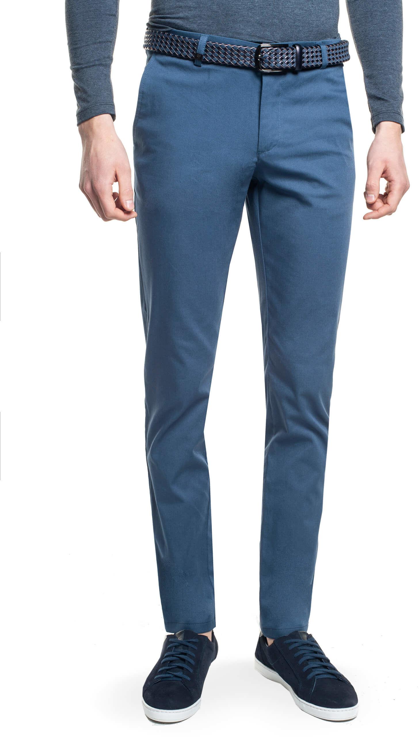 spodnie andy 217 niebieski