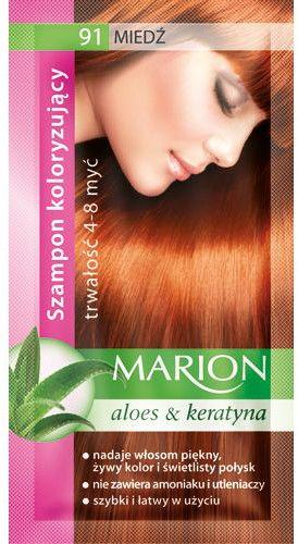 Marion Szampon koloryzujący 4-8 myć 91 Miedź 40ml