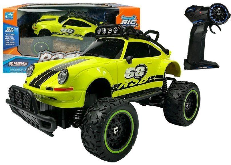 Auto Zdalnie Sterowane R/C Beetle Zielone 6.5 km/h 2.4G
