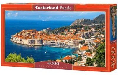 Puzzle Castor 4000 - Dubrovnik, Croatia , Chorwacja