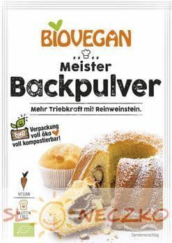 Proszek do pieczenia bezglutenowy BIO 3 x 17 g Bio Vegan