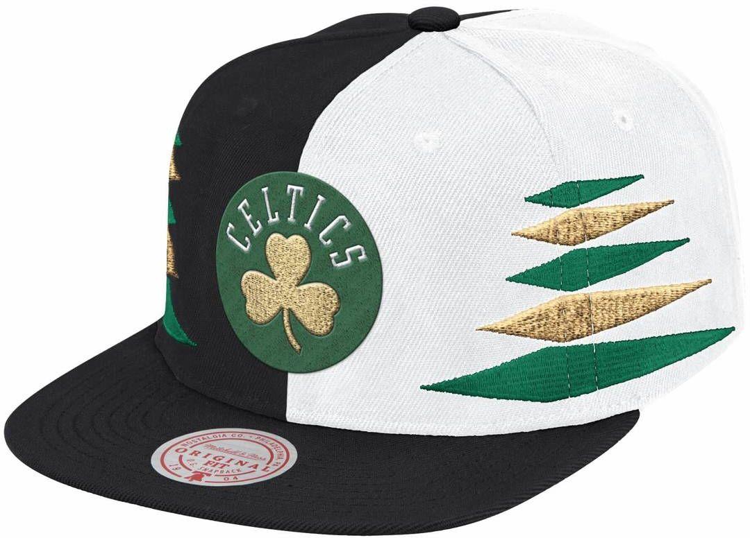 Czapka z daszkiem Mitchell & Ness NBA Diamond Cut Boston Celtics Snapback
