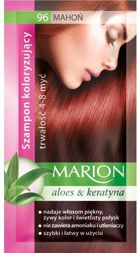 Marion Szampon koloryzujący 4-8 myć 96 Mahoń 40ml