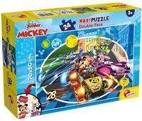Puzzle dwustronne Supermaxi 24 Myszka Miki - Lisciani
