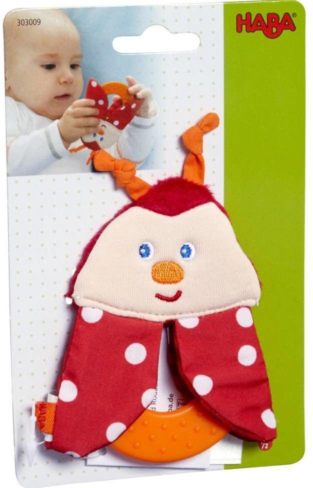 Uniwersalny gryzak dla dzieci B jak Biedronka HB303009-Haba, zabawki dla niemowląt
