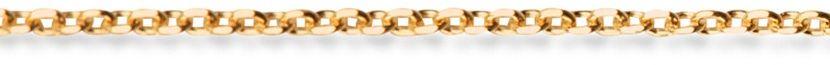 Staviori łańcuszek ankier . żółte złoto 0,585.