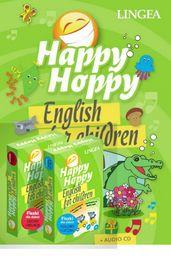 Happy Hoppy. Pakiet edukacyjny dla dzieci do nauki języka angielskiego ZAKŁADKA DO KSIĄŻEK GRATIS DO KAŻDEGO ZAMÓWIENIA