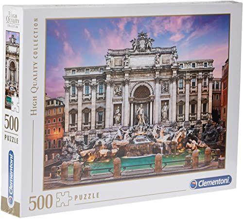 """Clementoni 35047"""" Trevi-Brunnen-HQC Puzzle, 500 części"""