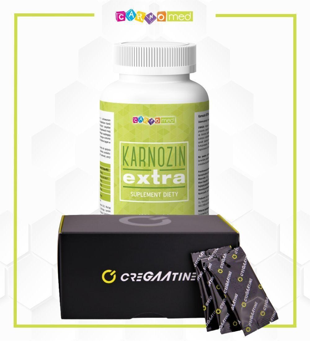 2 pak - CreGAAtine + Karnozin extra