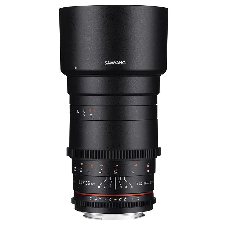 Obiektyw Samyang 135mm T2.2 VDSLR ED UMC Canon