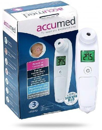 AccuMed HB500 termometr bezdotykowy 1 sztuka