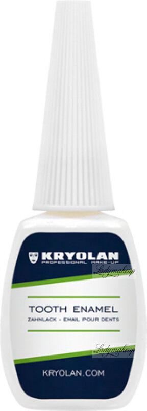 KRYOLAN - ZAHNLACK - Lakier koloryzujący do zębów - WHITE