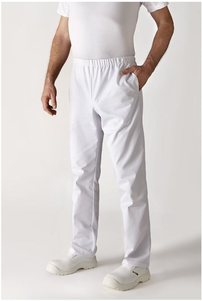 Spodnie kucharskie białe Umini S