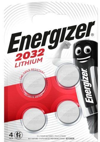 4 x bateria litowa mini Energizer CR2032