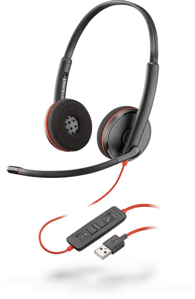 POLY Blackwire C3220 Zestaw słuchawkowy Opaska na głowę USB Typu-A