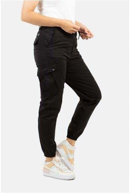 spodnie REELL - Reflex Women LW Cargo Black (120)