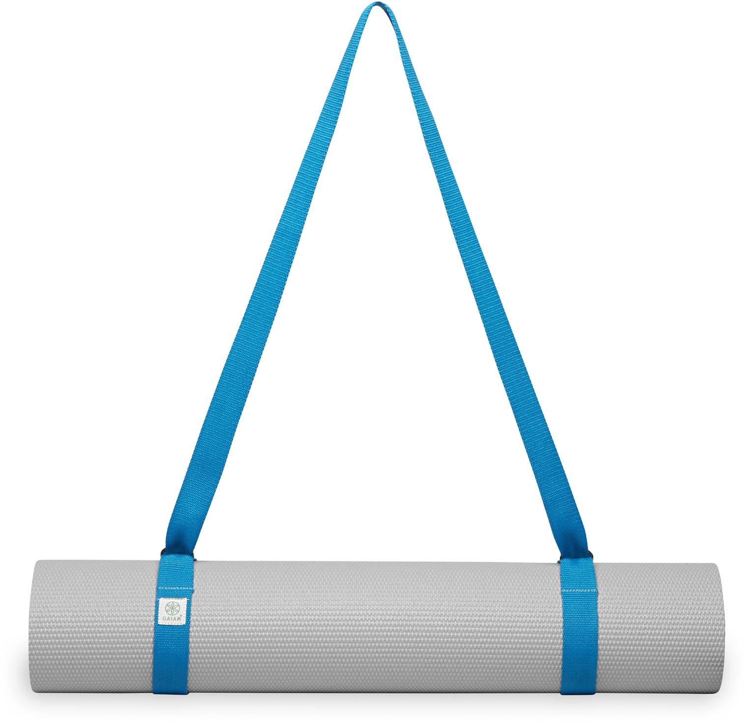 Pasek na matę do jogi niebieski 61711BL GAIAM