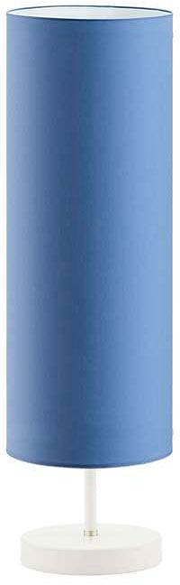 Lampka nocna tuba na białym stelażu - EX950-Sydnet - 18 kolorów