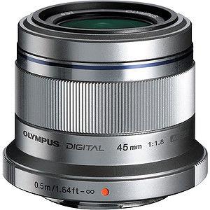 Obiektyw Olympus M.Zuiko Digital 45mm f/1.8 (czarny)