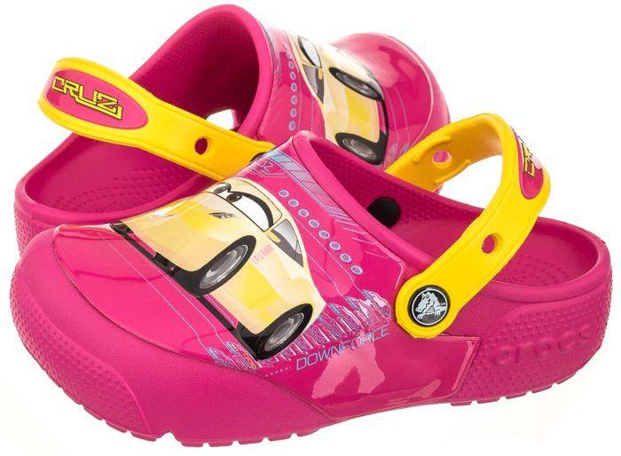 Klapki Crocs Fun Lab Lights Cars 3 Clog Cruz Ramirez 204138-6X0 (CR136-a)