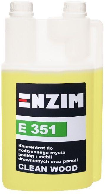 ENZIM E351 Koncentrat do codziennego mycia podłóg i mebli drewnianych oraz paneli CLEAN WOOD 1L