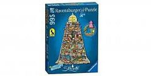 Puzzle Raven 3D - Colin Thompson - Shaped Lighthouse 995pc