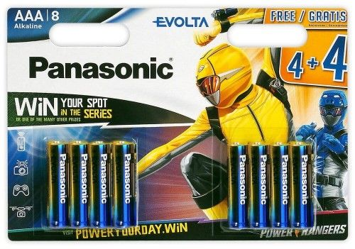 8X PANASONIC BATERIA EVOLTA LR03/ AAA BLSTER