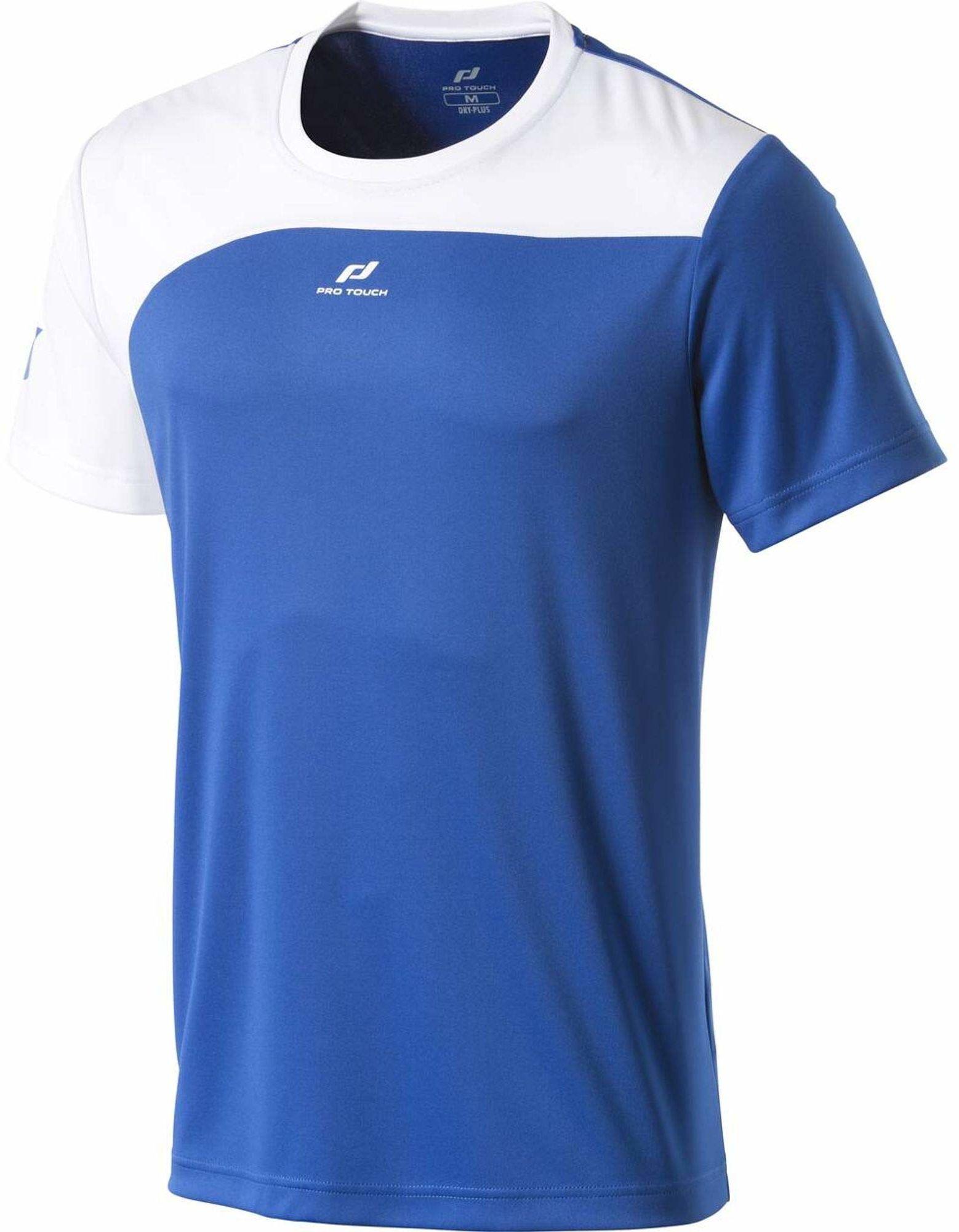 Pro Touch męska koszulka Severin, niebieska/biała, 2XL