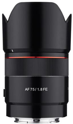 Samyang AF 75mm F1.8 FE - obiektyw stałoogniskowy do Sony E Samyang AF 75mm F1.8 FE
