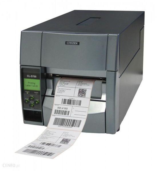 Drukarka etykiet Citizen CL-S700 (Opcje do wyboru) - tania wysyłka
