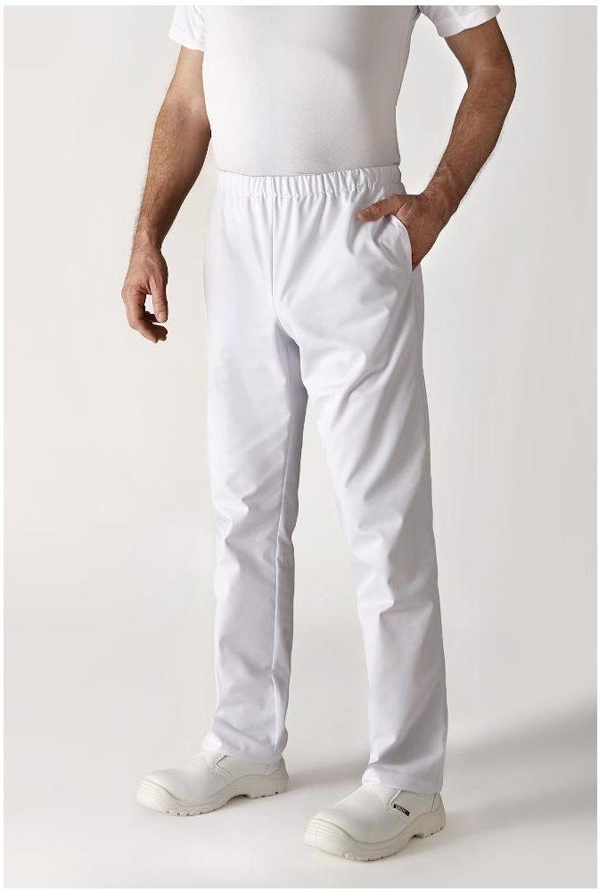 Spodnie kucharskie białe Umini XXXL