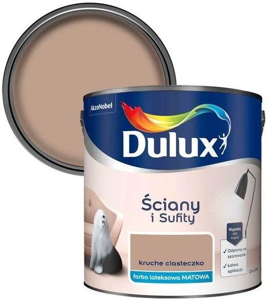 Farba Dulux Ściany i Sufity kruche ciasteczko 2,5 l