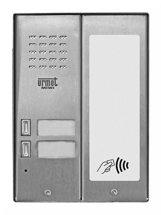 Panel wywoławczy 5025/2D-RF MIWI-URMET