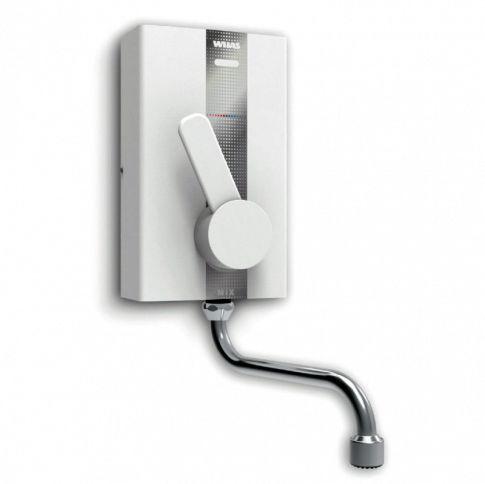 Wijas elektryczny przepływowy ogrzewacz wody Perfect Mix 5,5 kW, z baterią