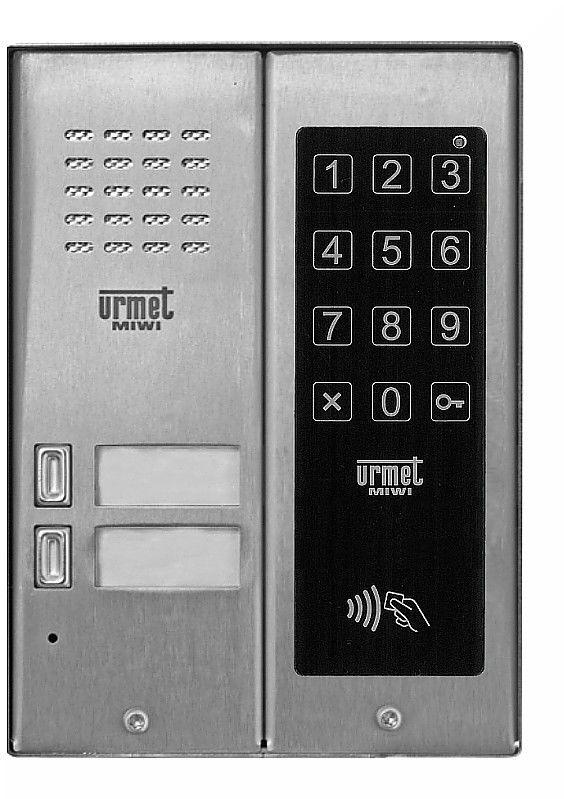 Panel wywoławczy 5025/2D-ZK-RF MIWI-URMET