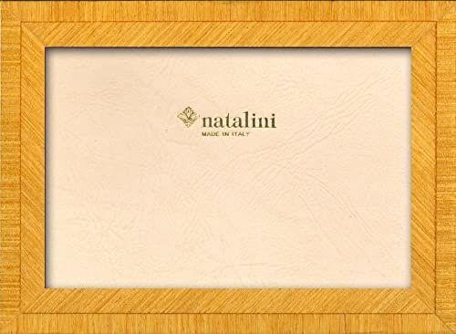 Ramka na zdjęcia Natalini MARQUETRY MADE IN ITALY, Tulipan, żółty, 12 cm x 18 cm