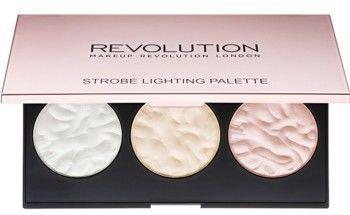 Makeup Revolution Strobe Lighting paleta rozjaśniaczy 11,5 g