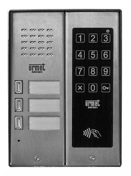 Panel wywoławczy 5025/3D-ZK-RF MIWI-URMET