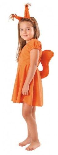 Przebranie dla dziewczynki Wiewiórka, sukienka
