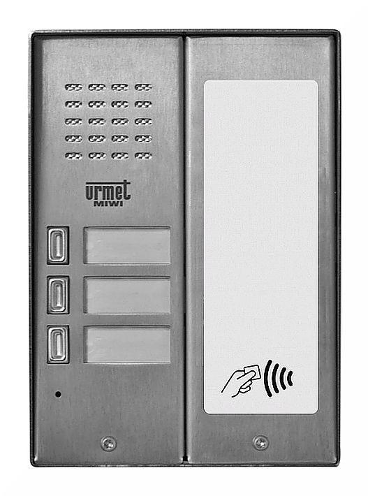 Panel wywoławczy 5025/3D-RF MIWI-URMET