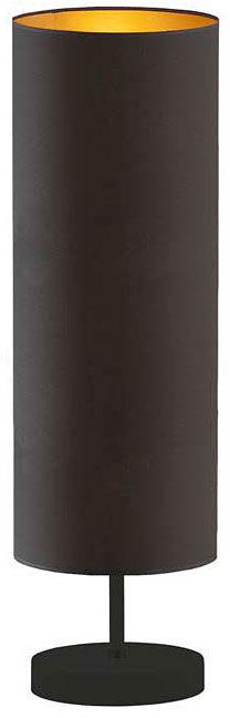 Lampka nocna na szafkę na czarnym stelażu - EX957-Sydnel - 5 kolorów