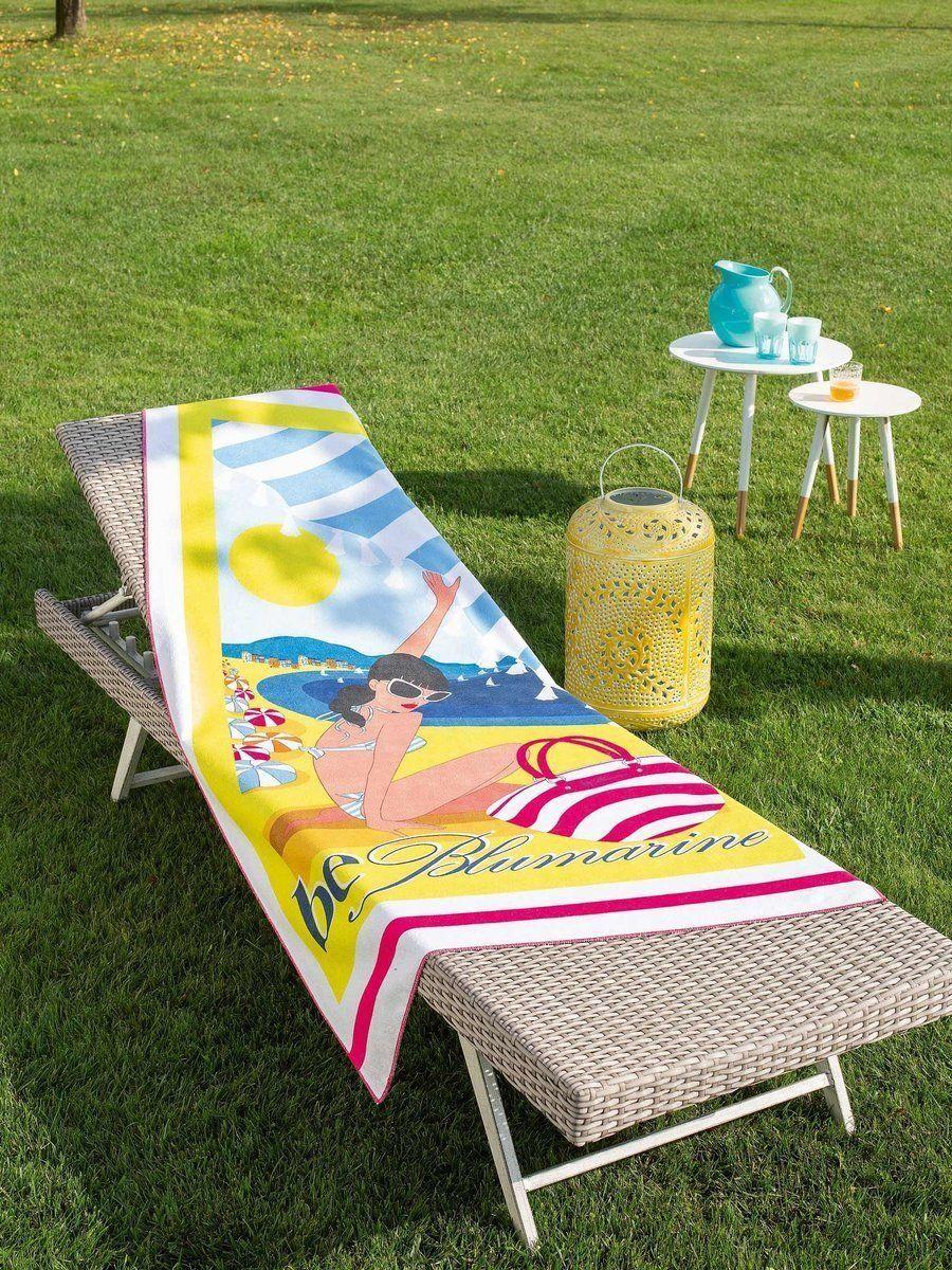Ręcznik plażowy Blumarine Pin Up Yellow