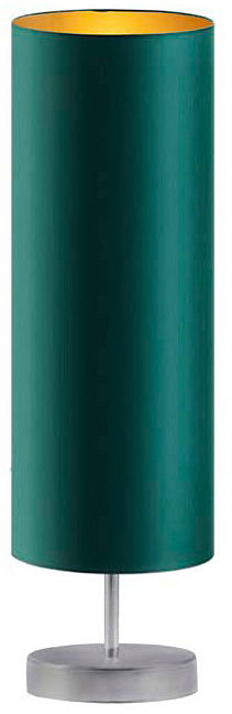 Lampka stołowa do salonu na srebrnym stelażu - EX958-Sydnel - 5 kolorów