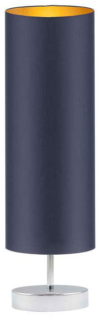 Lampka stołowa tuba na chromowanym stelażu - EX959-Sydnel - 5 kolorów