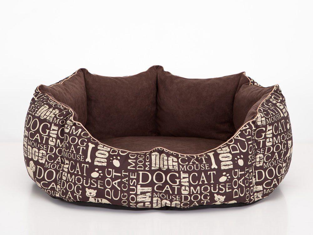 Hobbydog M NYRNAP10 M Pet Bed New York Subtitles, M, Brown, 1 kg
