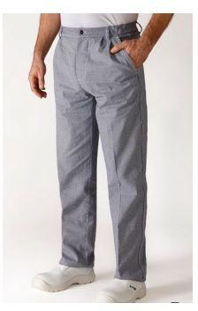 Spodnie kucharskie szare Oural XXXL