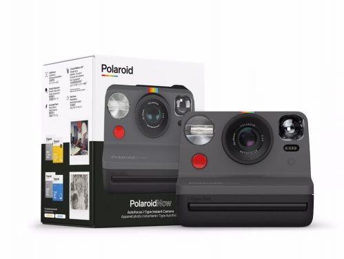 Aparat natychmiastowy Polaroid Now - czarny