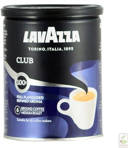 Lavazza Club 250g mielona puszka