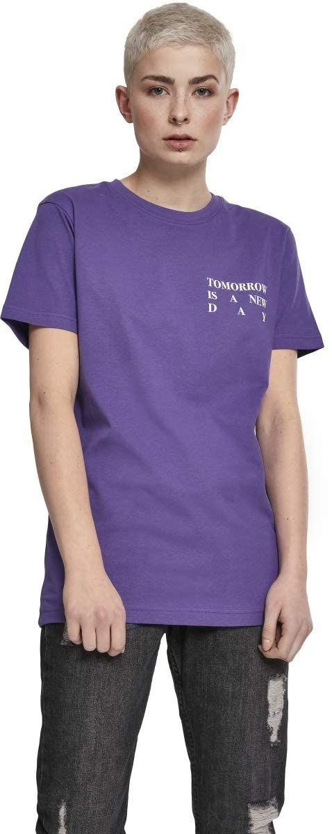 Mister Tee Damska koszulka damska New Day, Ultrafiolet, XS